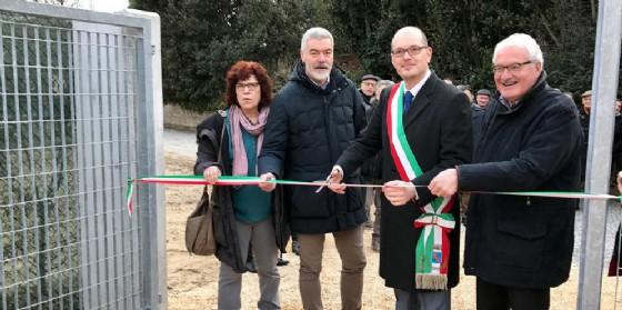 L'assessore Panontin ad Azzano Decino (© Regione Friuli Venezia Giulia)
