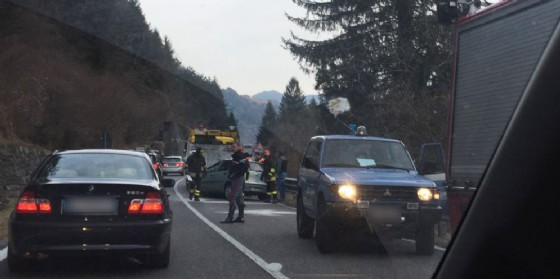 L'incidente verificatosi in Carnia (© G.G.)