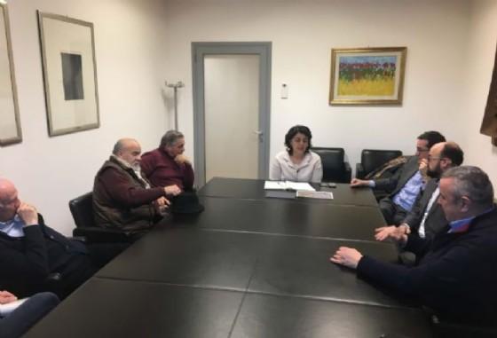 Mariagrazia Santoro (Assessore regionale Infrastrutture e Territorio) incontra rappresentanti del Comitato di cittadini di via Pradamano e amministratori del Comune di Udine (© Regione Friuli Venezia Giulia)