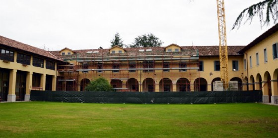 Il cantiere dell'Uccellis