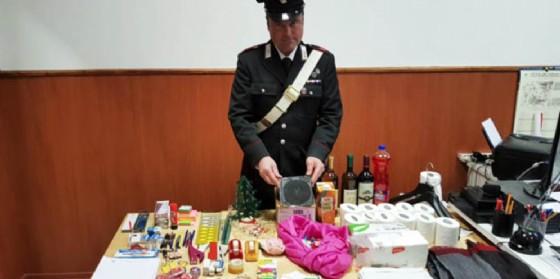 Il materiale sequestrato dai carabinieri (© Carabinieri)