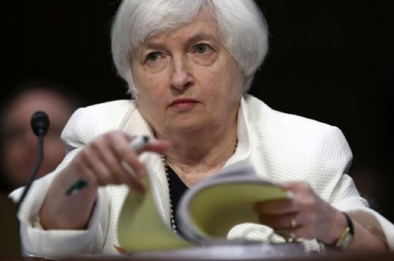 La presidente della Fed Janet Yellen