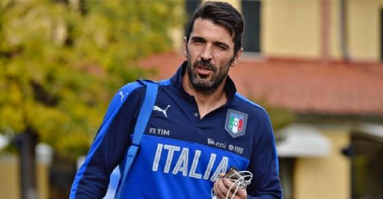 Gianluigi Buffon, capitano della Nazionale italiana
