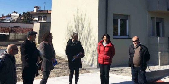La consegna delle case a Turriaco (© Regione Friuli Venezia Giulia)