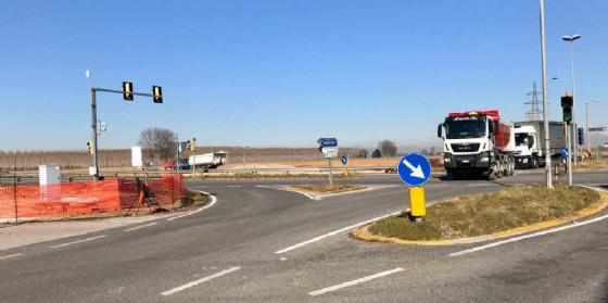 L'area dove sorgeranno le due rotonde (© Regione Friuli Venezia Giulia)