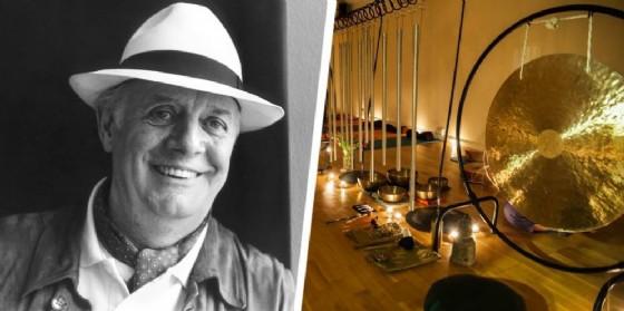 Workshop di teatro a Hydro, bagno di gong alla cascina delle rose di Salussola (© Diario di Biella)