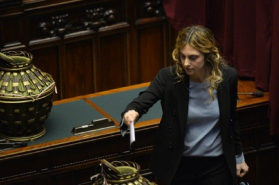 Il ministro della Pubblica amministrazione, Marianna Madia. (© Afp. com)