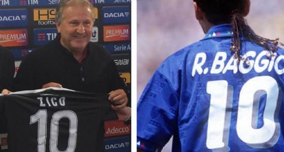 Meglio Zico o meglio Baggio? (© Diario di Udine)