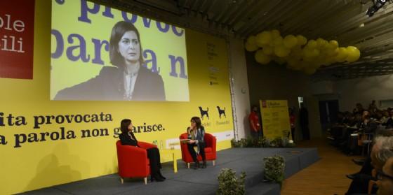 Boldrini ha parlato delle bufale sul web (© Regione Friuli Venezia Giulia)