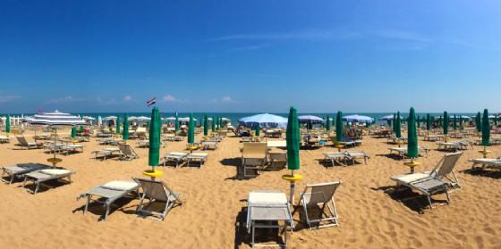 La spiaggia li Lignano (© Diario di Udine)