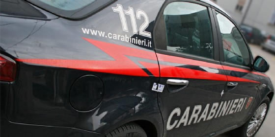 Attività dei carabinieri ad Aiello (© Diario di Udine)