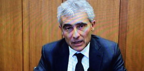 Tito Boeri in collegamento video (© Diario di Udine)