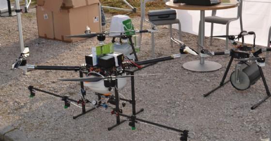 Un drone da utilizzare in agricoltura (© Consorzio Agrario)