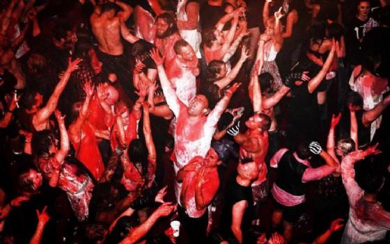 Rave party scoperto nel Pordenonese (© ANSA)