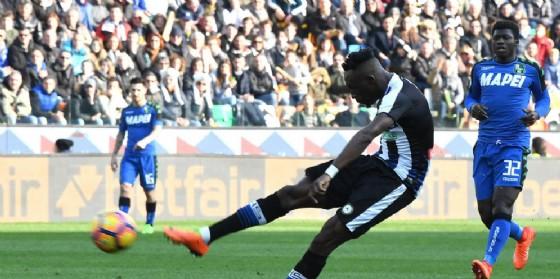 Fofana ha sbloccato il risultato a Udine