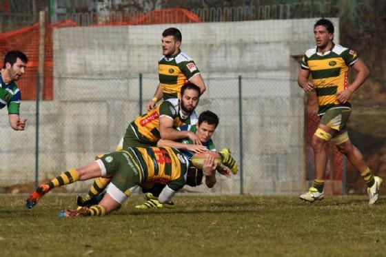 Un momento della gara di oggi (foto Socco) (© Biella Rugby)