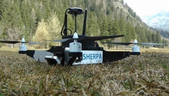 Progetto SHERPA, droni e robot per salvare i dispersi (© Credits photo courtesy of Press Play)