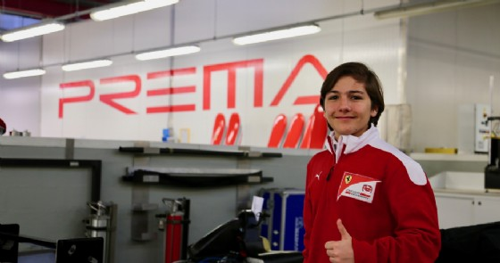 Enzo Fittipaldi (© Prema)