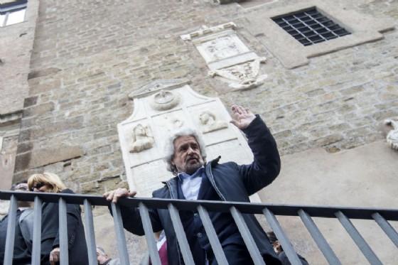 Beppe Grillo e lo stadio della Roma
