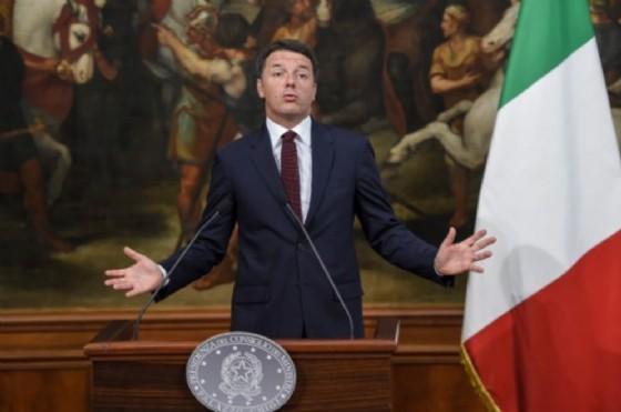 L'ex premier, Matteo Renzi. (© Afp.com)