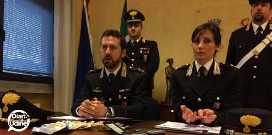 La presentazione dell'attività svolta da parte dei carabinieri