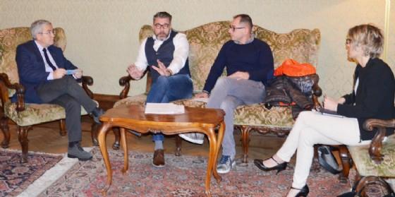 L'incontro tra Fontanini, Zilli e il Sap (© Provincia Ud)