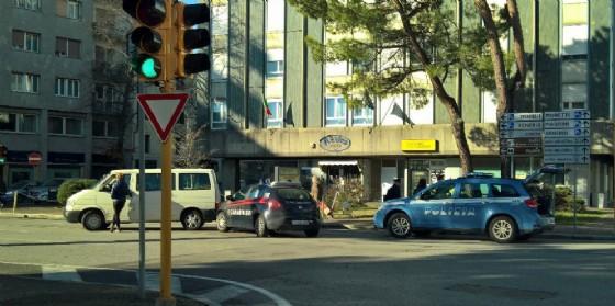 L'incidente in piazzale Osoppo (© Costantini)