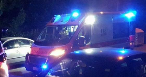 Il pedone investito è stato soccorso da un'ambulanza (© Diario di Udine)
