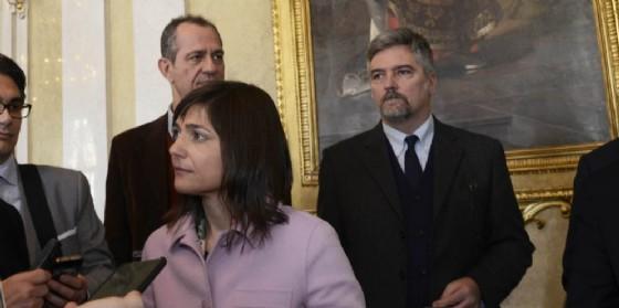 La presidente Serracchiani