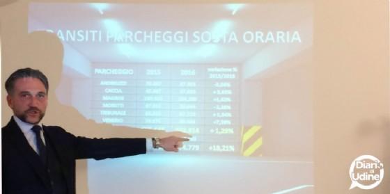Il direttore di Ssm Pellegrini illustra i dati del 2016 (© Diario di Udine)