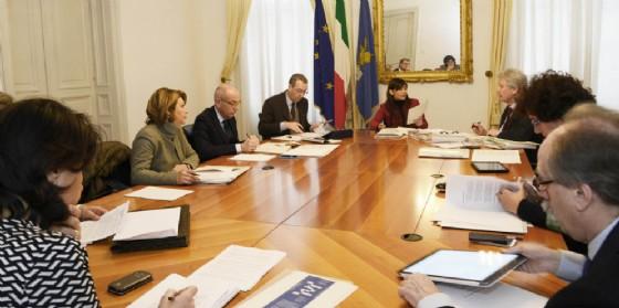 L'ultima riunione della giunta regionale (© Regione Friuli Venezia Giulia)