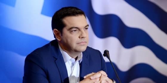 Il premier greco Alexis Tsipras. (© Giannis Papanikos / Shutterstock.com)