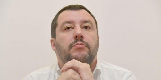 Il leader della Lega Nord, Matteo Salvini ha risposto a Massimo Gramellini che sul Corriere lo ha accusato di non aver mai lavorato nella vita (© Luca Zennaro | ANSA)