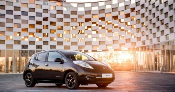 Nissan Leaf Black Edition (© Nissan)