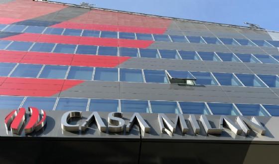 La sede dell'Ac Milan