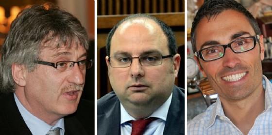 Tondo, Moretti e Mazzolini (© Diario di Udine)