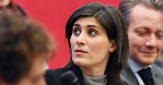 Chiara Appendino e gli assessori Sacco e Giusta (© Alessandro Di Marco/Ansa)
