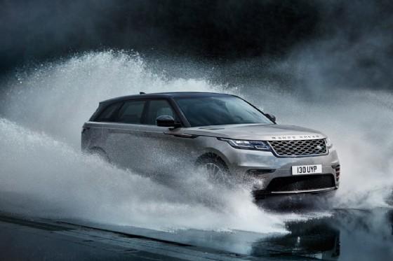 La Range Rover Velar in azione