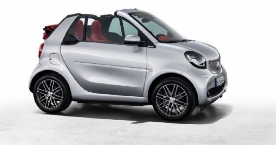 La nuova Smart Fortwo cabrio Brabus edition