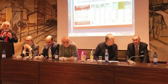 L'intervento di Bolzonello a Udine (© Regione Friuli Venezia Giulia)