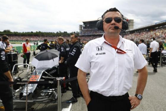 Il team principal della McLaren Eric Boullier