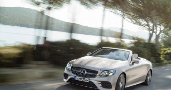 La nuova Mercedes Classe E Cabrio (© Mercedes)
