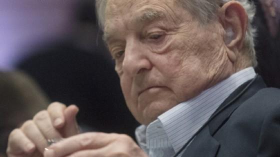 Il magnate ungherese George Soros.