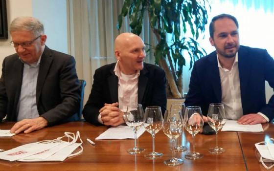 La presentazione dell'edizione 2017 della Fiera dei Vini di Bertiolo (© Regione Friuli Venezia Giulia)