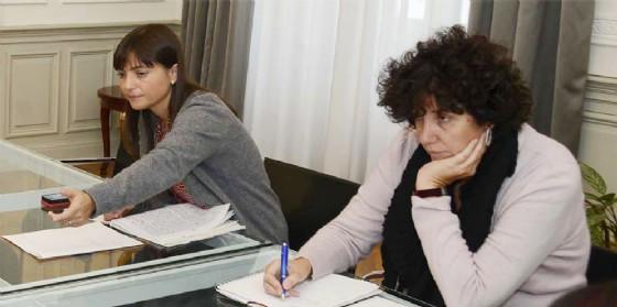 Serracchiani e Panariti commentano gli ultimi dati sul lavoro (© Regione Friuli Venezia Giulia)
