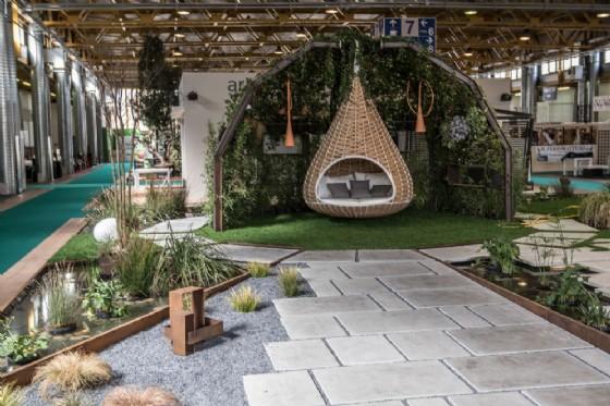 Il primo classificato al Festival dei Giardini, Giardino n. 10 'AssuefacenteVerde'progettato da Arkadia Sas di Regeni Alice
