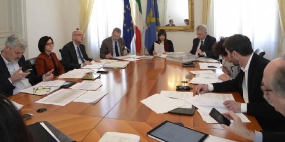 Riunione della giunta regionale (© Regione Friuli Venezia Giulia)