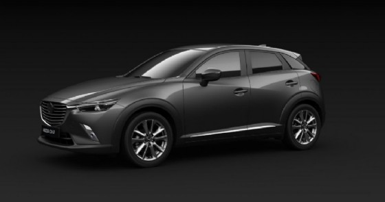 La Mazda Cx-3 Luxury Edition (© Mazda)