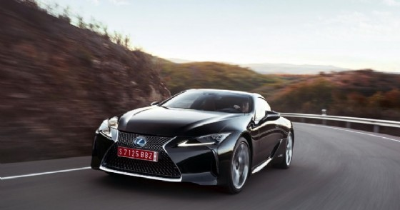 La nuova Lexus Lc Hybrid