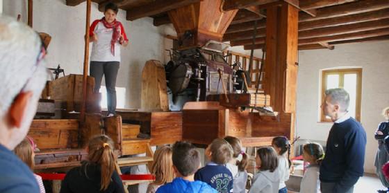 Tornano a grande richiesta le visite guidate al mulino di Adegliacco (© Immaginario Scientifico)